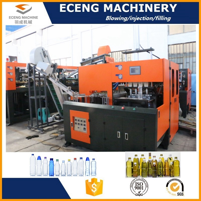 Energy Saving Semi Auto Blowing Machine With Cold Air Circulating System
